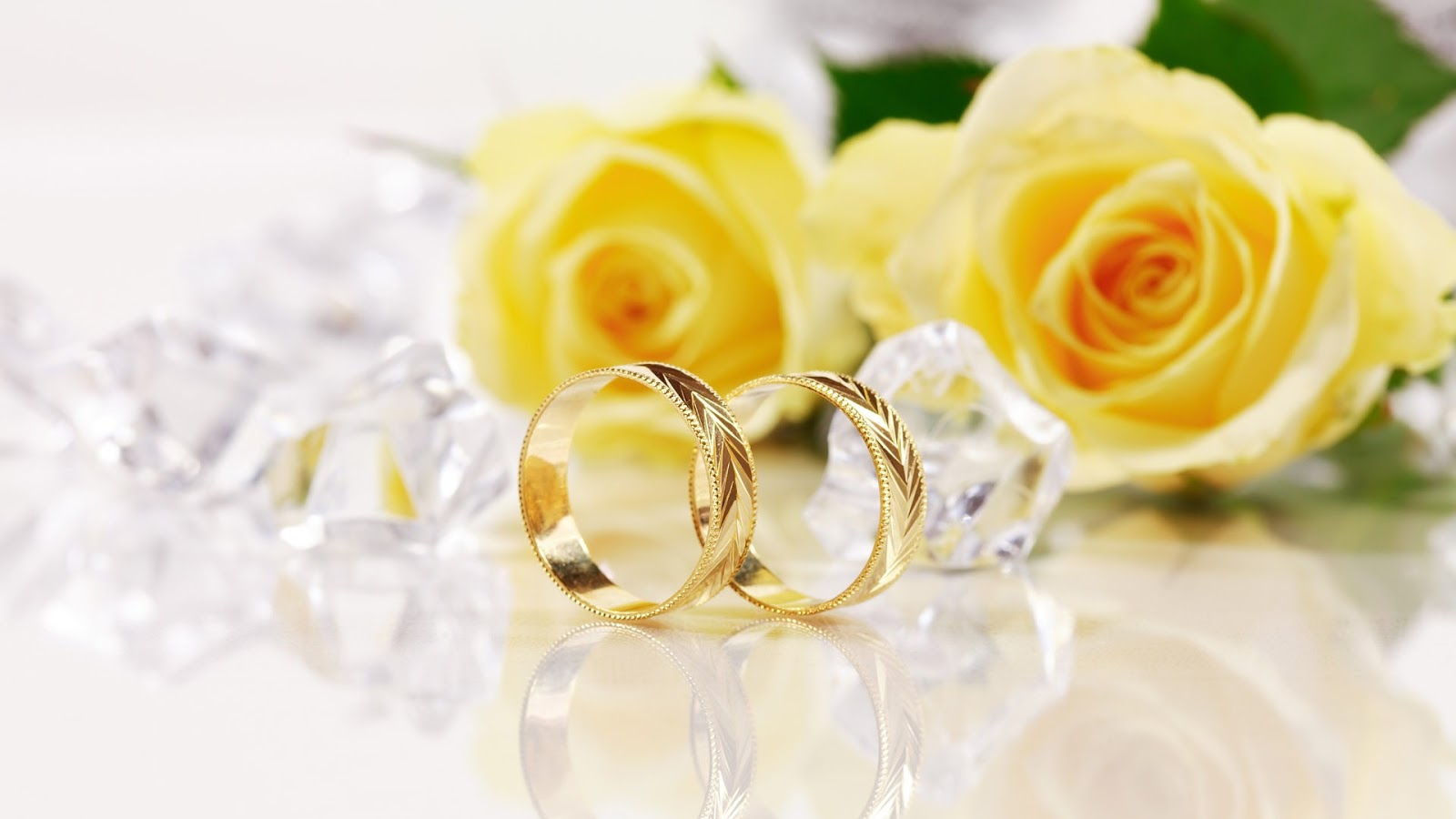 Gold Wedding Rings Wallpapers